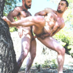 outdoor muscular guys